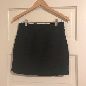Urban Outfitters Textured Mini Skirt